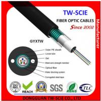 Telcom Outdoor Fiber Optic Cable High Strength Loose Tube Structure Hydrolysis Resistant