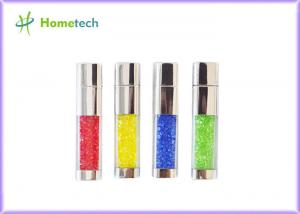 China Imprinted Crystal 2 gb usb flash drive , custom printed Metal Usb Flash Memory on sale