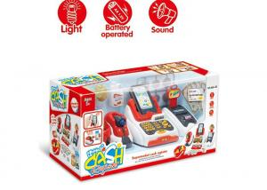 Pretend Children S Play Toys Cash Register With Scanner And Credit