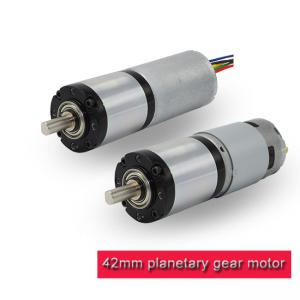 China High Torque 12v DC Planetary Gear Motor 42PA775 / 42PA4260 RoHS Approved on sale