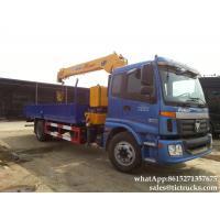 FOTON hydraulic  crane-  truck crane XCMG Telescopic boom  6.3T truck mounted crane price  WhatsApp:8615271357675