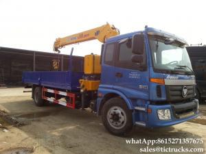 China FOTON hydraulic  crane-  truck crane XCMG Telescopic boom  6.3T truck mounted crane price  WhatsApp:8615271357675 on sale