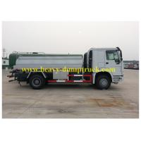 4x2 howo new oil tank truck 10 CBM heavy fuel oil tanker for sale