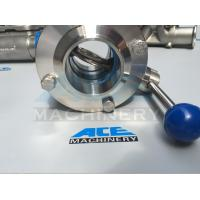 Food-Grade Butterfly Valve Stainless Steel (ACE-DF-7D)