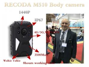 China 4G GPS Police Body Worn Camera Support LIve checking from PC & Mobile Phone on sale