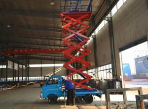 China 18m Mobile Aerial Work Platform 300 -3000 kg Loading Capacity on sale