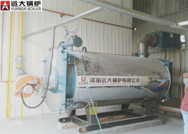 Diesel Oil Fired Boiler 100 / 0000 Kcal Boiler Heater 0.8 Mpa Rated ...