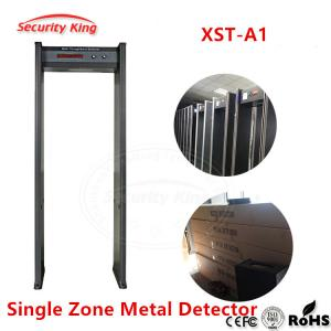 China XST - A1 Hotel Airport Portable Walk Through Metal Detector Security Gate Single Zone on sale