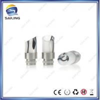 China 510  Wide Bore SS + Acrylic  Drip Tips  for Ecigarette  from Sailing Manufacturer on sale