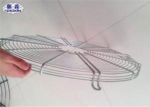 China Stainless Steel Ceiling Fan Guard Industrial Net Cover In White Color on sale