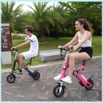 10 Inch Wheel Electric Folding Scooter 40km Range Per Charging