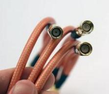 China Qinda RG Coaxial Cable -55℃~200℃ Temperature Range RG302 Communications Wire on sale