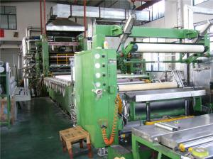 China High Speed Automatic 4 Roll Calender Machine For PVC Leatheroid Different Width on sale