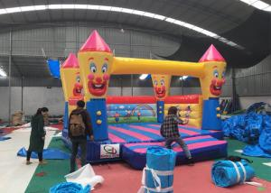 China Funny Clown Adult Size Bounce House  Bouncer Inflatable Jumper Customized Design on sale