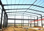 Industrial Prefabricated Building Structure / Steel Frame Structure Construction