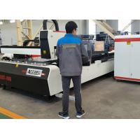 China High Speed CNC Fiber Laser Tube Cutting Machine CAD / CAM Software Energy Efficiency on sale