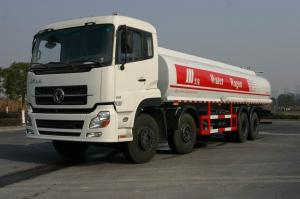 China Dongfeng 8x4 310HP Carbon Steel Crude Oil Transportation Trucks 24500L on sale