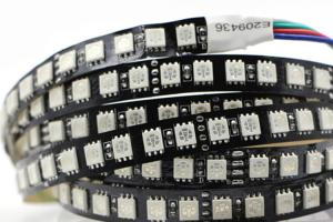 China 5050 SMD 24v Led Strip Lights / White Ribbon 24v Led Rope Light on sale