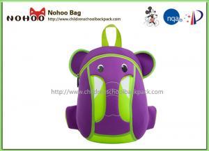 China Waterproof Kids Animal Backpack , Personalised Toddler Backpack Elephant Style on sale