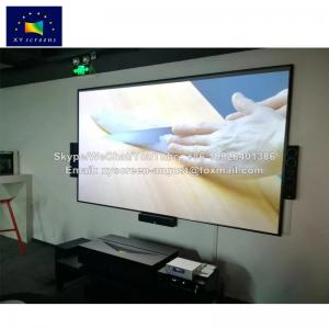 China XY Screen PET Crystal Ultra short throw Projector screen for xiaomi laser projector on sale
