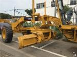 Year 2016 Used Motor Grader CAT 140K , Grader Heavy Equipment With Push Block