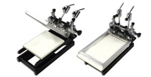 China Shenzhen leadsmt technology manual solder paste printer on sale