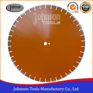 China 600mm Laser Welded Diamond Saw Blade Reinforced Concrete Cutting Disc supplier