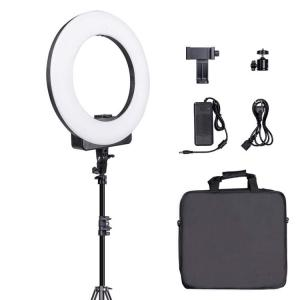 "China TRIOPO 18"" inch Makeup Selfie Video Diva LED Photographic Ring Light with Phone Camera Holder For Youtube on sale"