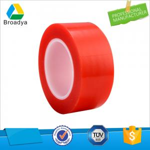 China 160mic Heat Resistance Self-Adhesive PET Film Double Sided Tape on sale