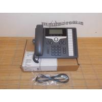 CP-7861-K9 SIP 7800 Series VoIP IP Phone Wired Ethernet RJ45 Low Power Dissipation