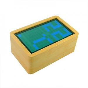 China Horologe in Bois Digital LED Clock Alarm Calendar Digital Thermometer on sale