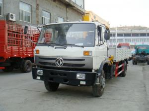 China 10T Dongfeng EQ5161JSQ with 5T Truck Crane,5T XCMG Crane,10T Truck Crane on sale