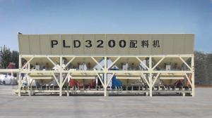 China High Efficient Concrete Batching Machine , 3200L Aggregate Batching Plant on sale