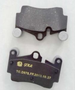 China FMSI: D978 disc brake pads for Car makes: Audi / Volkswagen Touareg / Porsche Cayenne on sale