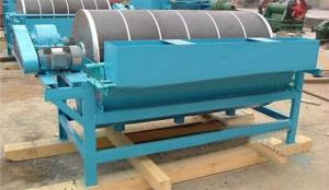 China AC Motor Wet Dry 200t/H Iron Ore Magnetic Separator on sale