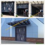 Sectional Steel Lift Door Vertical Panel Lifting Industrial Sectional Door For Garage Use