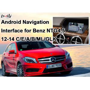 China Quad-Core Android navigation box + Video Interface for Benz A , B , C, E Series with Built-in Mirrorlink on sale