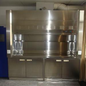 China Cheap Stainless Steel Fume Hood For Lab Furnitur Manufacturer on sale
