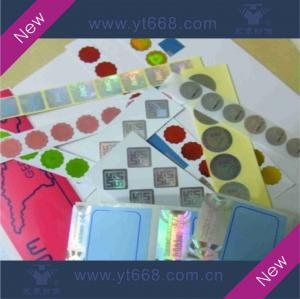 China Hologram sticker,laser label,rainbow sticker on sale