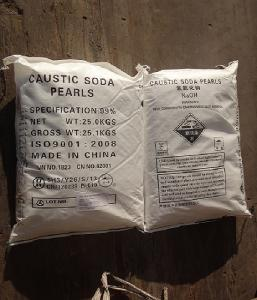 China Caustic Soda Pearls 99%,Inorganic Alkali,Chemical material,Sodium hydroxide use for bleach on sale