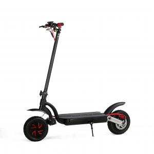 China 10inch 700w dual motor 2 wheels folding electric scooter with double battery optional on sale