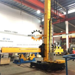 China Fixed Base Column And Boom Welding Manipulators With Manual Control Box on sale