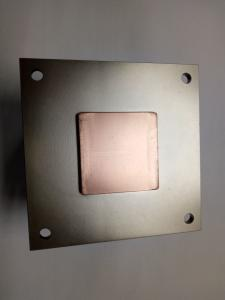 China New Design Customized Custom copper heat pipe with aluminum fin heat sink on sale