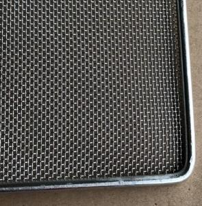 Quality Frame Wire Mesh Tray For Food Baking , Dehydration , 304 Food Grade for sale