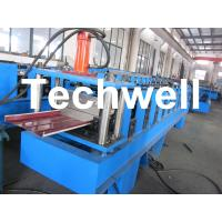 Aluminium Standing Seam Roof Roll Forming Machine For Material Thickness 0.5 - 1.2mm
