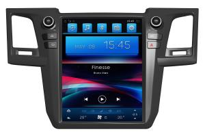 China 12.1 inch Android Car Head Unit for Toyota Fortuner Hilux with GPS Navigation FM Aux USB SD Camera on sale