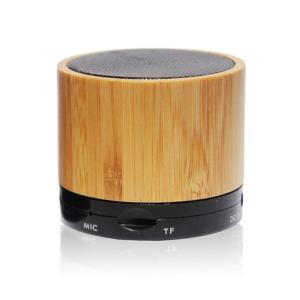 China Bamboo Portable Wireless Bluetooth Speakers Audio Dock on sale