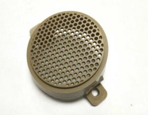 China ABS Precision Plastic Injection Molding , Plastic Molded Parts For Speaker Cover on sale