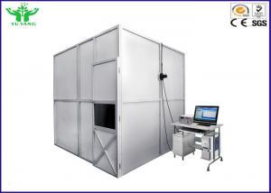China IEC 61034 3 Metre Cube Smoke Density Apparatus Horizontal Flammability Tester on sale