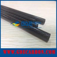 China 3k carbon fiber pipe on sale
